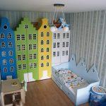 Фото 119: Шкафы в виде города в детской