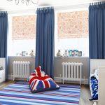 Фото 100: Сочетание типов штор в детской комнате для мальчика