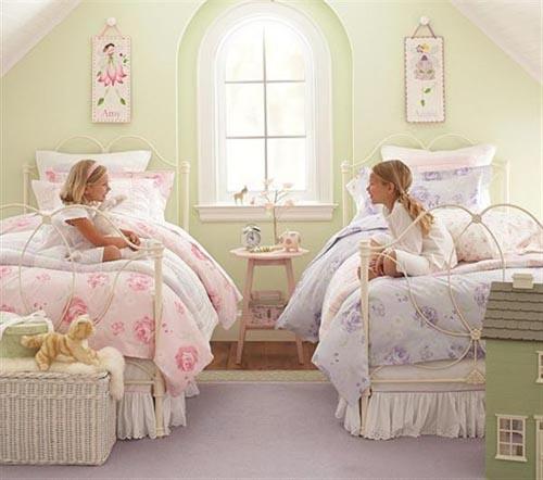 Детская комната для детей-двойняшек