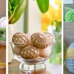 Фото 76: Вязанные яйца и обвязка яиц