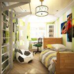 Фото 36: Зонирование пространства в детской комнате для мальчиков