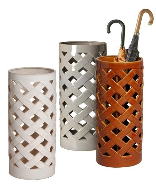 Керамические стойки для зонтов фото