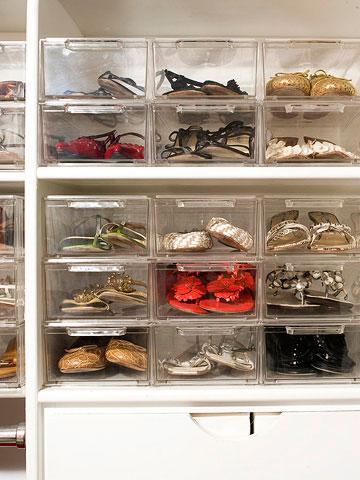 Органайзер для обуви из пластика