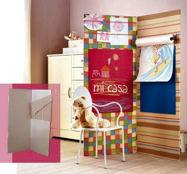 Идеи для игровой зоны в детской комнате