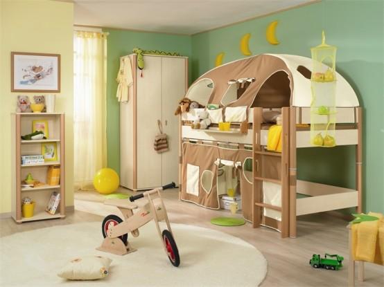 В детской комнате должно оставаться свободная игровая зона