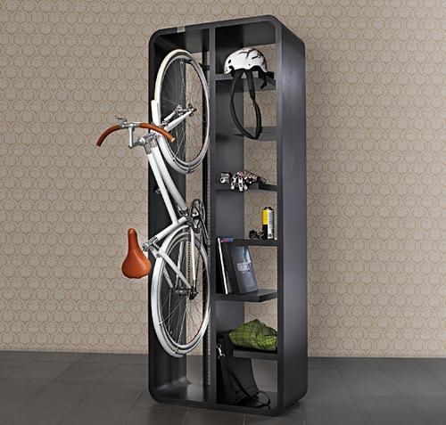 Хранение велосипеда в шкафу