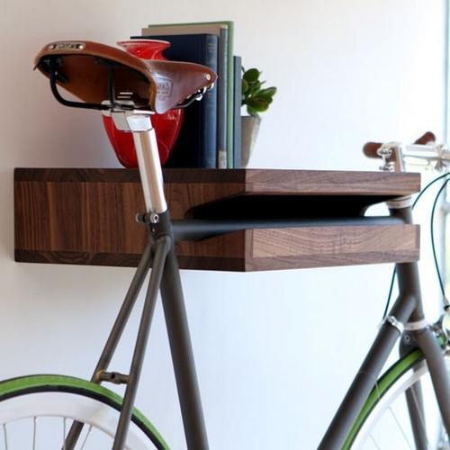 Крепление-полка для хранения велосипеда