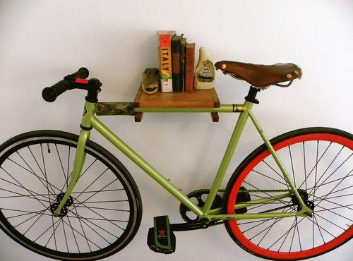 Как подвесить велосипед на стену с помощью крепления