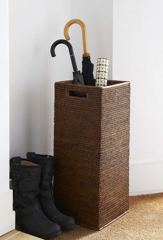 Подставка для зонтов из ротанга