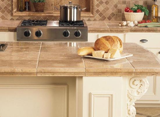 Кухонная столешница из плитки своими руками фото