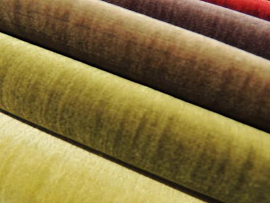 Бархатные ткани для обтягивания стен