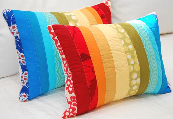 Декоративные диванные подушки своими руками фото