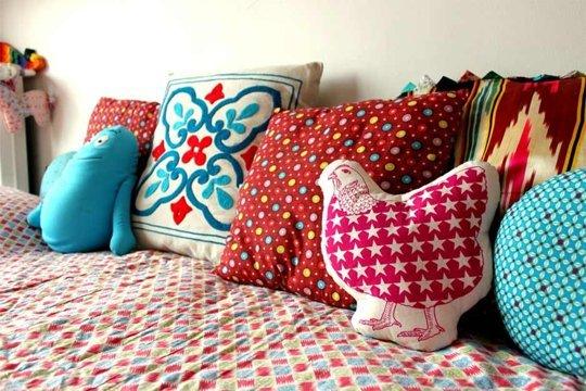 Детские декоративные подушки своими руками