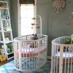 Фото 58: Комната для новорождённых двойняшек