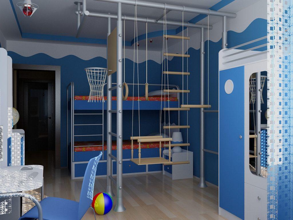 Детская комната для двоих мальчиков