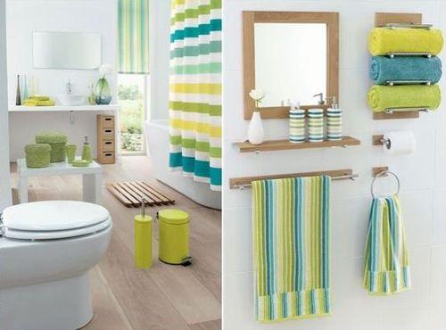 Аксессуары и декор для ванной комнаты