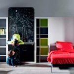 Фото 160: Откидные кровати в детской для двоих детей