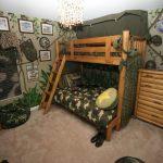 Фото 100: Детская комната в военном стиле для двух детей
