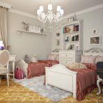 Фото 47: Детская комната для двух принцесс