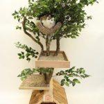 Фото 51: Домик - дерево для кошек