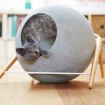 Фото 54: Домик - шар для кошек