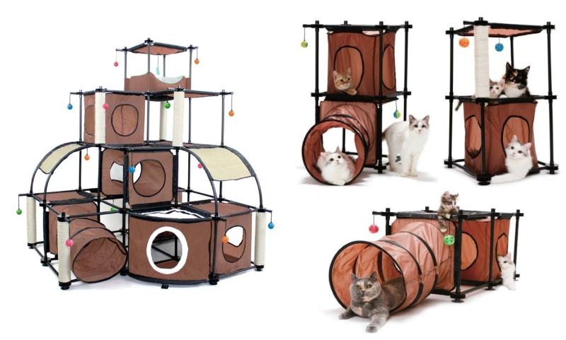 Игровые комплексы для кошек