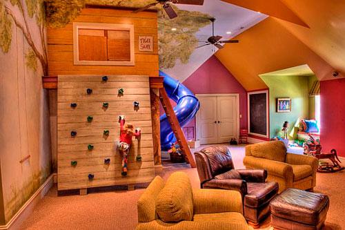 Детская комната в гостиной