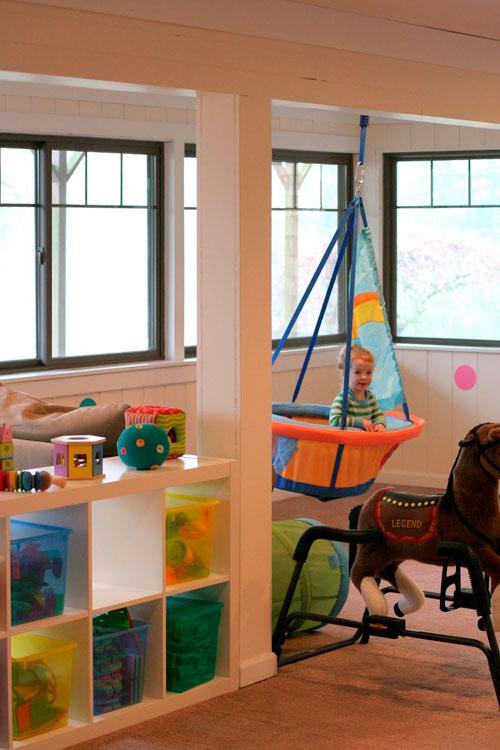 Дизайн детской комнаты в гостиной