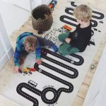 Фото 130: Ковер с дорогой для игр в детской для двух детей