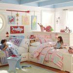 Фото 29: Расположение кроватей для двоих разнополых детей