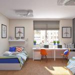 Фото 121: Оформление тсен в комнате для двух детей