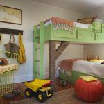 Фото 45: Расположение кроватей на разных уровнях