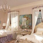 Фото 49: Шторы в виде балдахинов в комнате для двух девочек