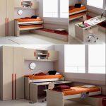 Фото 68: Складная мебель в детской для двух детей