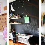 Фото 122: Стены в детской для рисования мелом