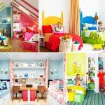 Фото 35: Яркие детские комнаты для разнополых детей