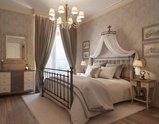 Дизайн портьер для спальни
