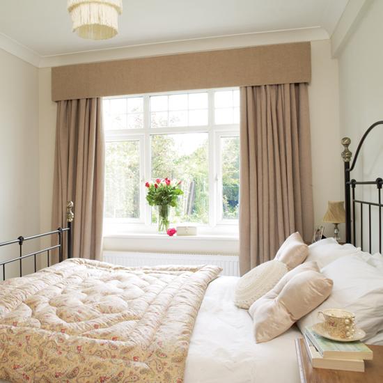 Портьеры для спальни с ламбрекеном