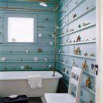 Фото 36: Морские аксессуары в ванной комнате