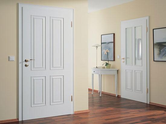 Белые двери всегда органично впишутся в пространство
