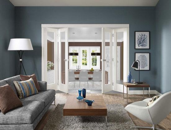 Белые межкомнатные двери в интерьере фото