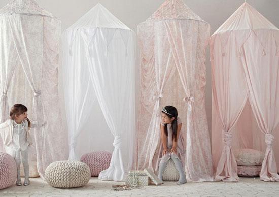 Балдахины для детской комнаты девочки