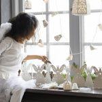 Фото 80: Бумажное украшение ангелочками