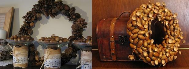 Оригинальные венки для украшения интерьера