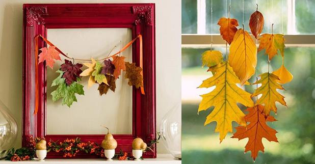 Декор для украшения дома осенью фото