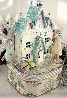 Подарочные рождественские домики