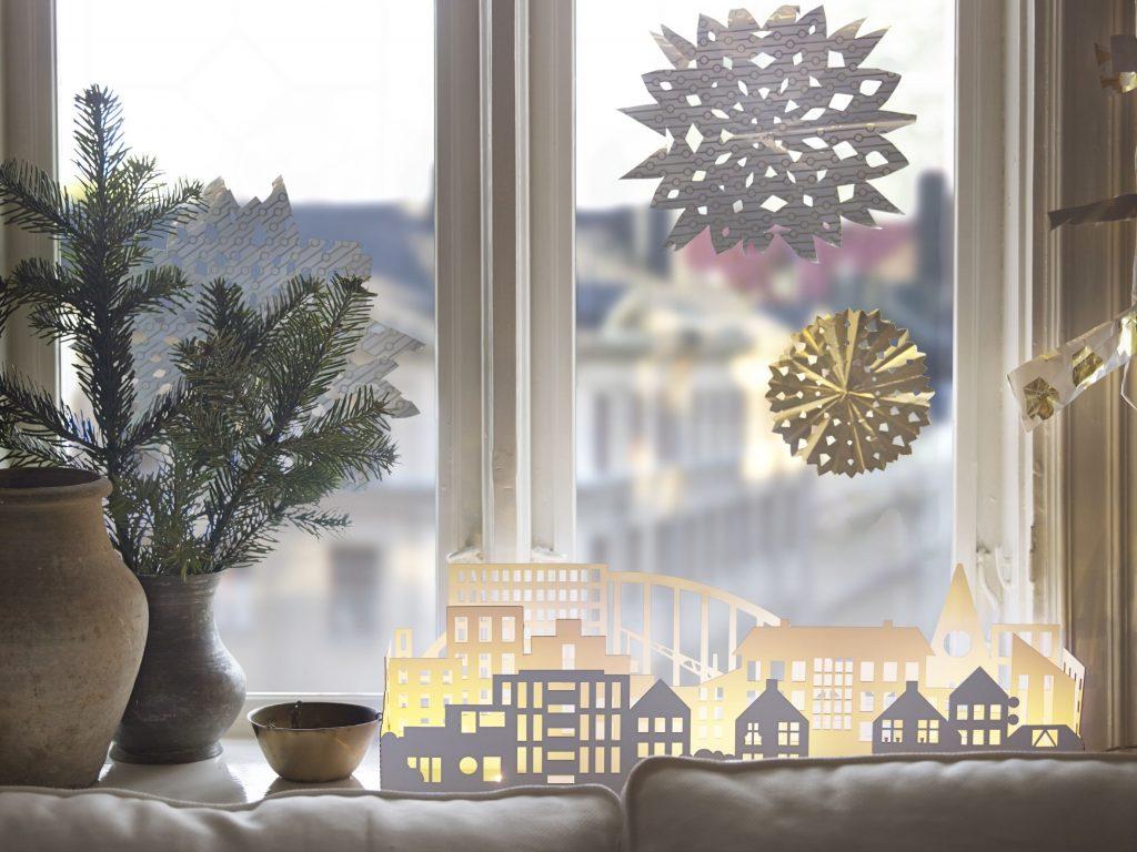 Зимняя сказка на окне своими руками