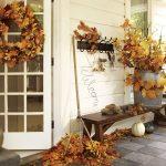 Фото 34: Осенний декор террасы