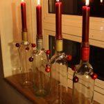 Фото 50: Новогодние свечи в бутылках