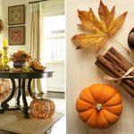 Фото 36: Осеннее украшение интерьера